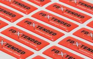 Domingstickers | FD x tended